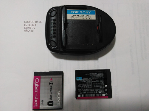 baterias cybershot tipo t