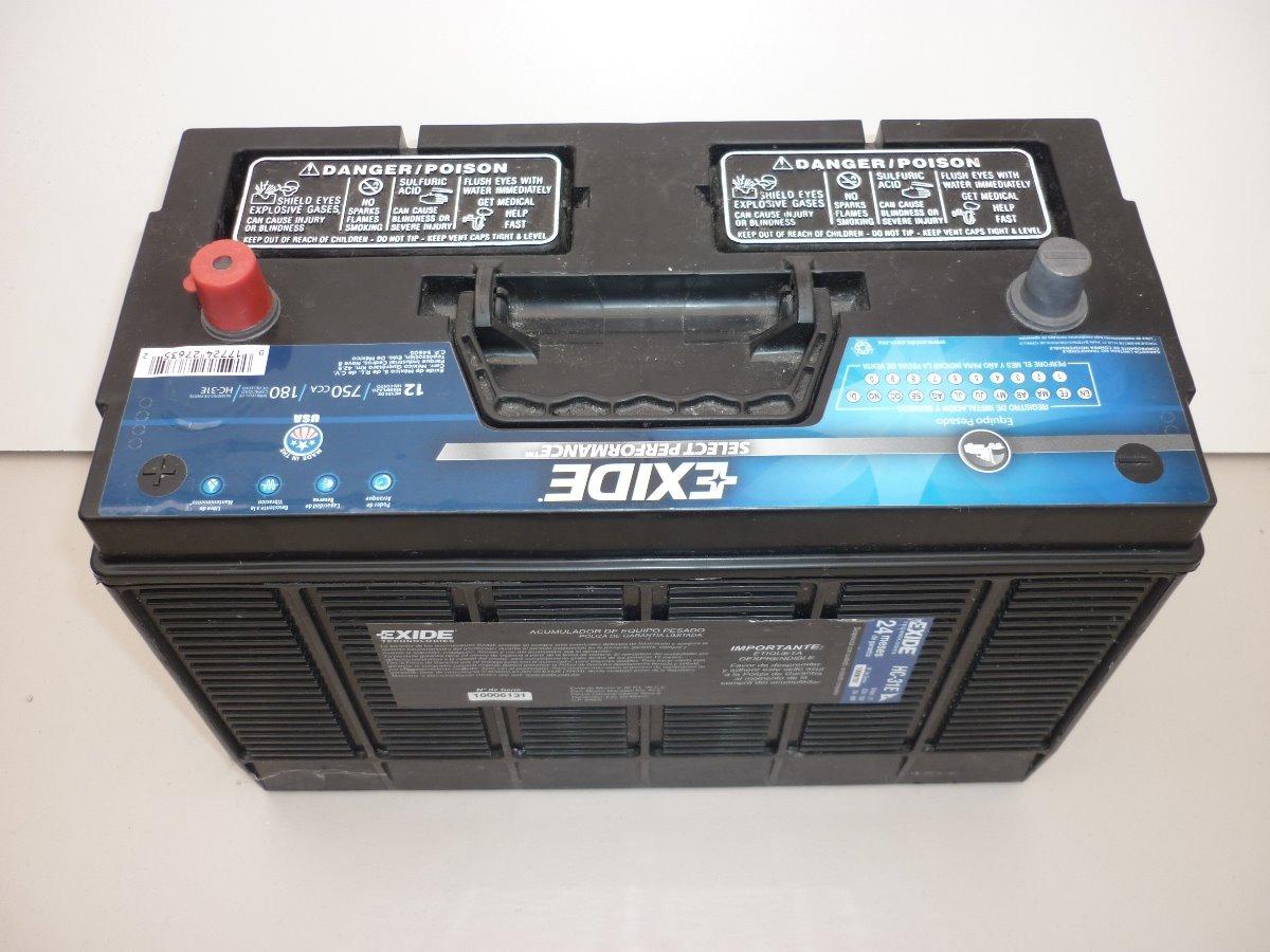 Baterias De Equipo Pesado Exide Select Performance