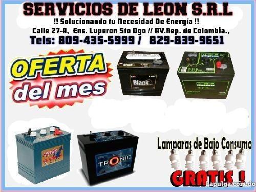 baterias de gelatina 12 voltios para inversores 110 amperes
