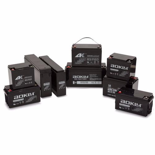 baterias de gelatina para inversor con 5 años de garantia