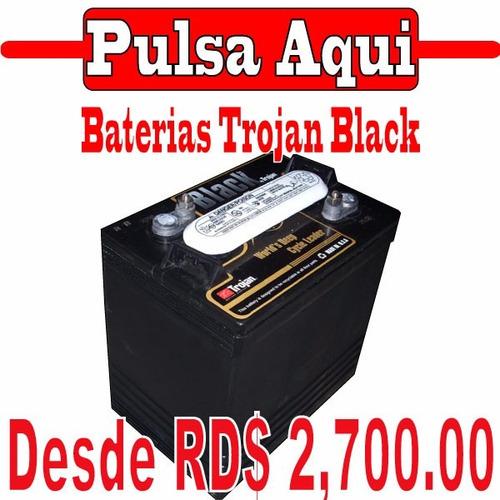 baterias de inversor trojan black (18 meses de garantia)
