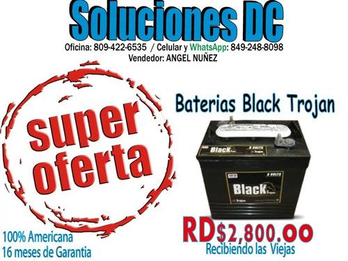 baterias de inversores barato y bueno - inf.: 809-435-2236