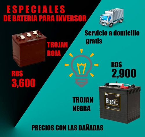 baterias de inversores interstate  especiales