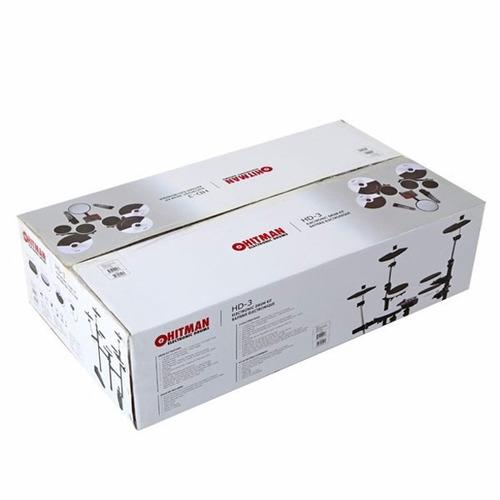 baterias eléctricas hitman hd3 5 cuerpos - portable