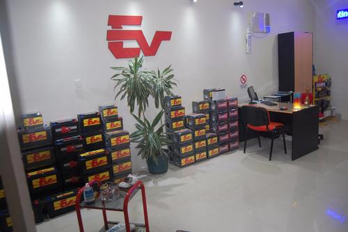 baterías ev 120 reforzadas libre mantenimiento