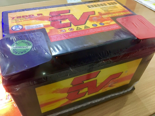 baterías ev75dd r 12/75 ideal motores diesel reforzadas