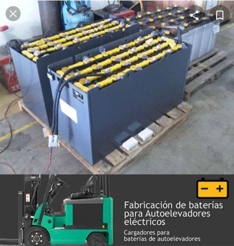 baterías industriales para montacargas eléctricos