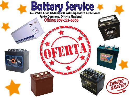 baterias inter-state para inversores (24 meses de garantia)