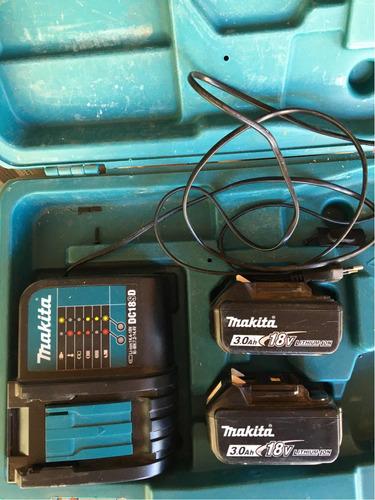 baterías makita 3ah 18 v + cargador