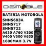Bateria Más Capacidad Motorola Snn5683a V300 V400 Nextel I95