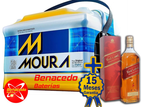 baterias moura 150 amp 15 meses jhonny de regalo con envío