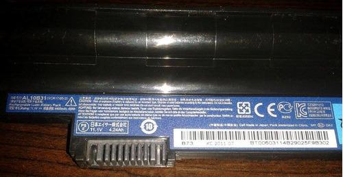 baterias netbook netobook  hp  acer aspire