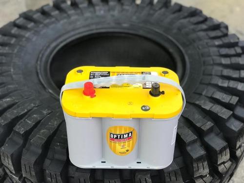 baterias optima de gel 750 amp yellowtop d34
