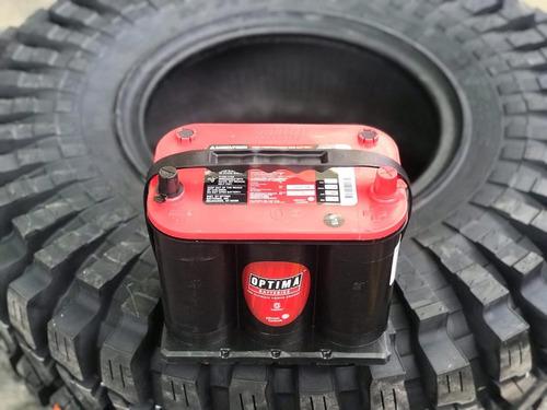baterias óptima de gel redtop d35 720 amp