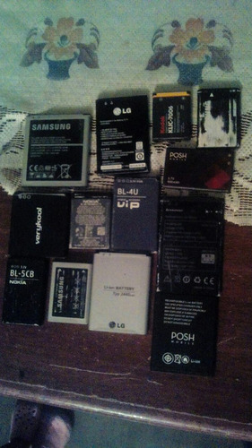 baterias para cel .varias marcas