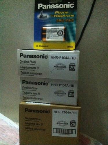baterias para telefonos panasonic hhr-p104