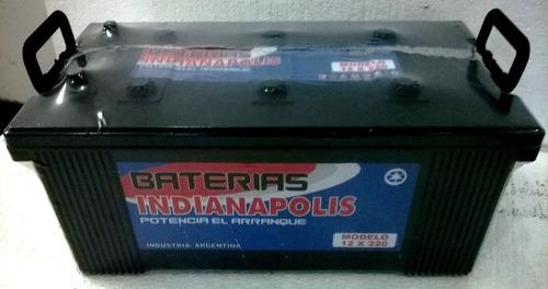 baterías p/camiones indianapolis 12x220 (12 x 220) 12x200
