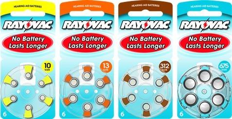 baterias rayovac para audifonos