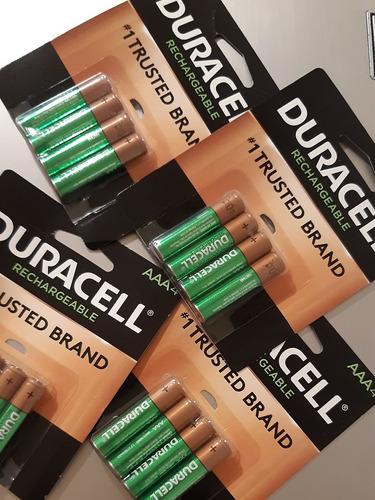 baterías recargables aaa duracell