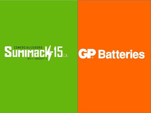 baterias recargables aa/aaa gp nimh 2700/1000mah pack de 8