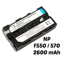 106 Bateria Video Camaras Sony Np-f550 Remplaza A F330