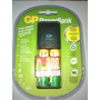 Pilas Recargales Doble Aa Gp Power Bank Incluye Cargador