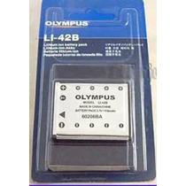 Bateria Olympus Li-42b Original Nueva En Blister Pila Litio
