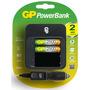 Gp Power Bank M550 ~1.5hrs-5.5hrs 2500aax2 W/car Adaptor