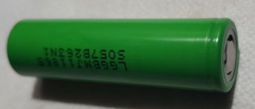 baterias recargables lg 18650 - unidad a $23000