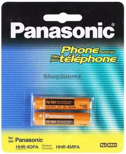 baterias recargables panasonic aaa   ...