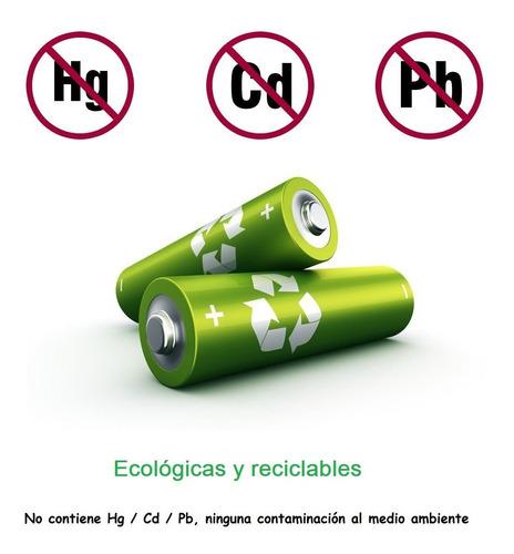 baterias recargables par