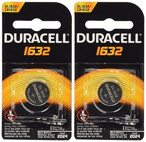 baterías remotas del coche de 2 piezas duracell cr1632 1632