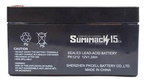 baterias selladas 12v 1.2ah nuevas recargables