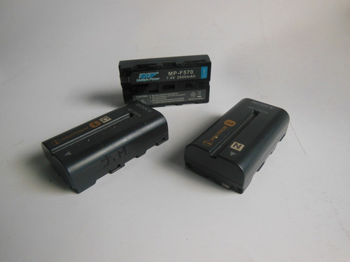 baterias sony npf 570