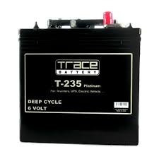 baterias trace t225 para inversores (18 meses de garantia)