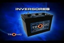 baterias tronic de inversor   en  e s p e c i a l