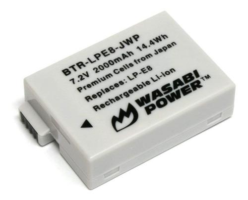 baterias wasabi power lp-e8