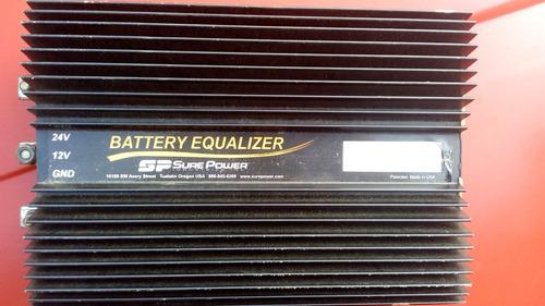 batery equalizer de 24 a 12 voltios 80amp