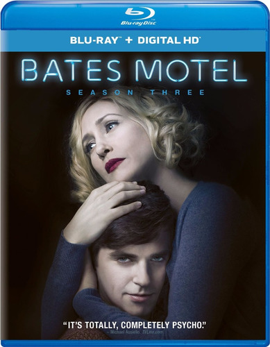 bates motel temporada 3 tres serie tv blu-ray + dig hd uv