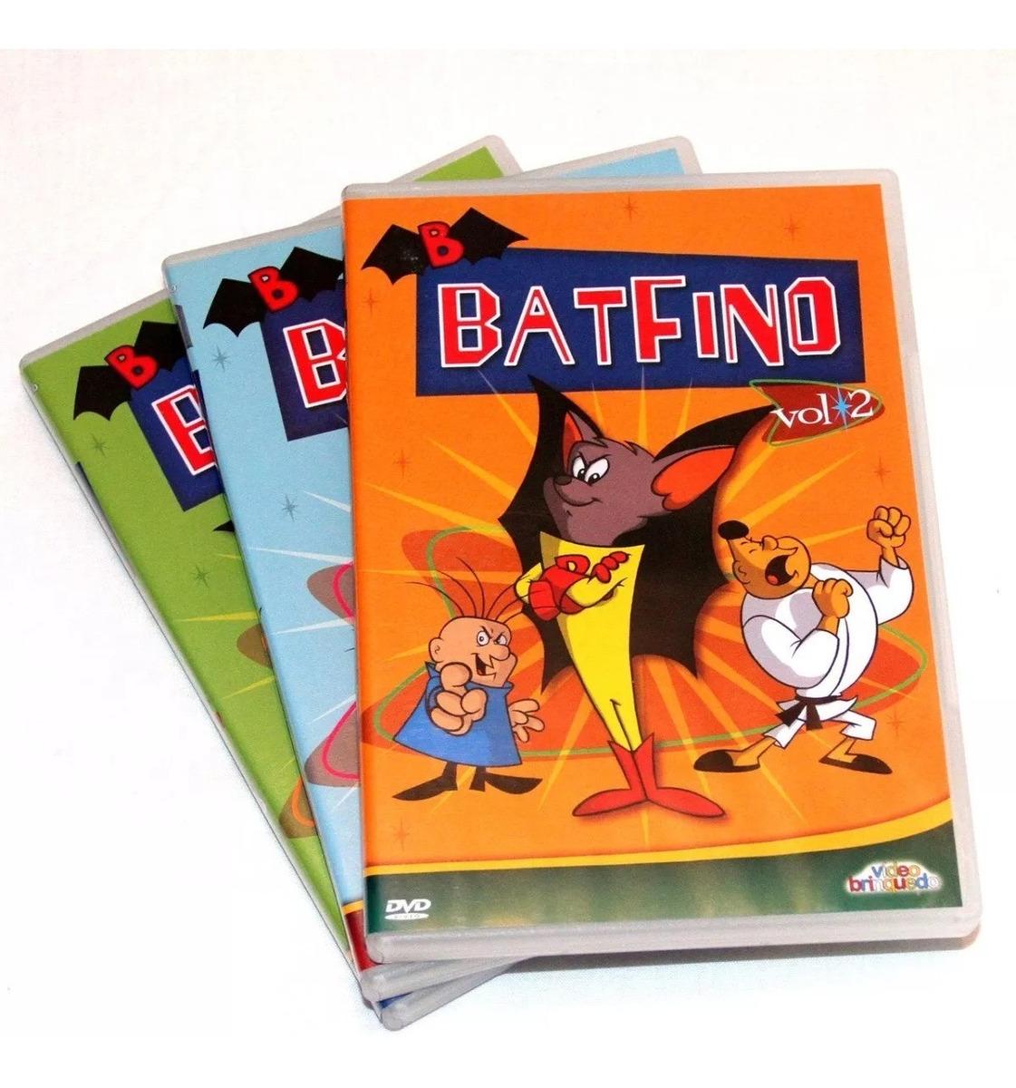 Batfino A Serie Animada Completa Dvd Segue Capa E Estojo R 45