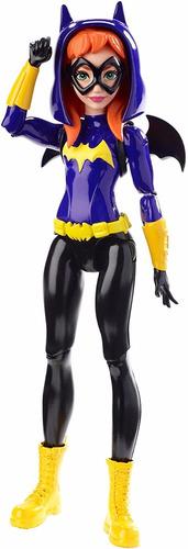 batgirl - dc super hero girls - mide 15 cm. original mattel.