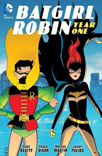 batgirl / robin: year one (batman) - dc comics - robot negro