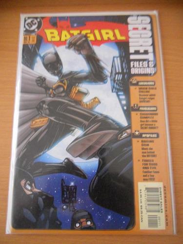 batgirl secret files # 1 dc comics