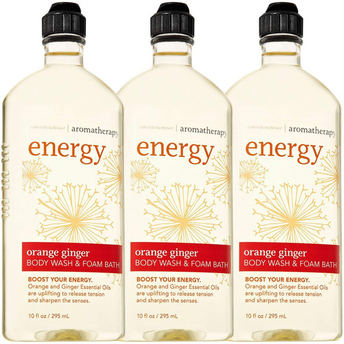 bath body works aromatherapy energy baño de espuma de gel...