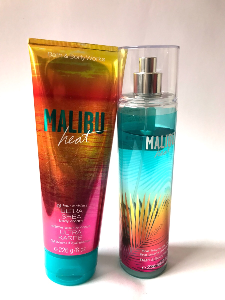 Malibu Bath And Body Works Cream Y Mist Heat 600 00 En