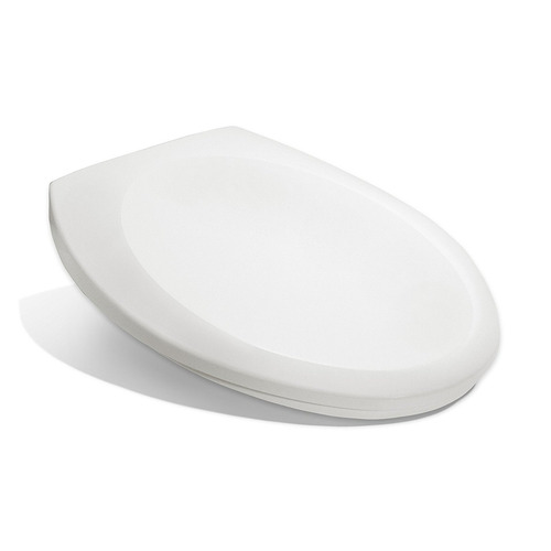 Swell Bath Royale Premium Elongated Toilet Seat With Cover White Evergreenethics Interior Chair Design Evergreenethicsorg