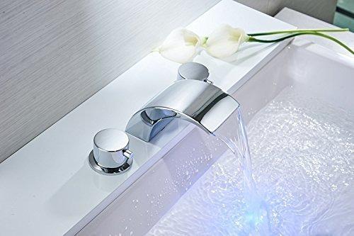 Bathfinesse Bathroom Sink Faucet Led