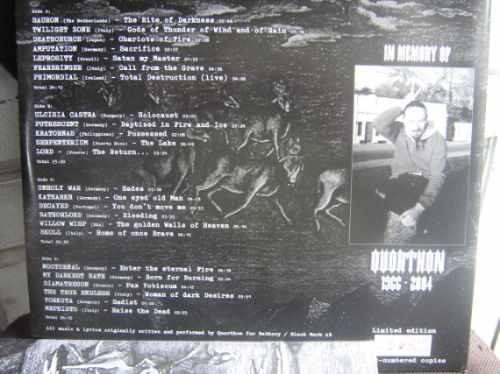 bathory duplo importado tributo mayhem hellhammer slayer von