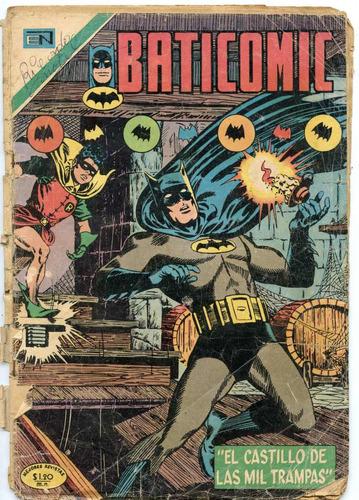 baticomic ( enero 1971) editorial novaro