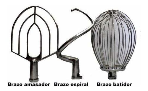 batidor batidora planetaria 20 lt amasador mezclador silcook